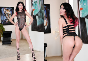Angel Del Rey - Squirting Anal Latina's Pussy Creampie