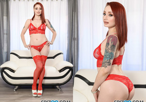 Violet Monroe Red Day - you are sure to bust your nut