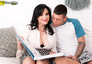 Grisha Petrov - Busty Colombian mom's first time