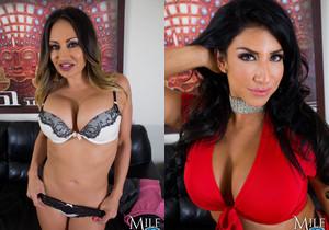 MilfVR - Raise the Bar - Raven Hart, Claudia Valentine