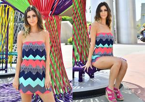 Hollie - Modeling The Sun Dress - FTV Girls