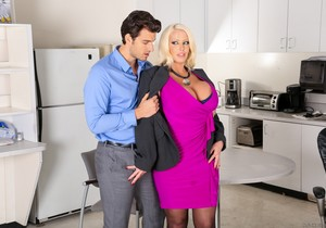 Alura Jenson - Big Tits Office Chicks #05 - Devil's Film