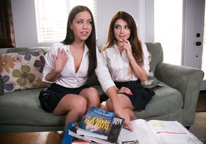 Adria Rae, Alina Lopez - School's Out: The Tutor Redux