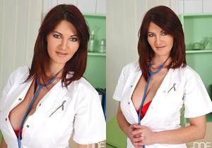 Vanessa, Klaudia Hot - Big Boobs Rock The Clinic!