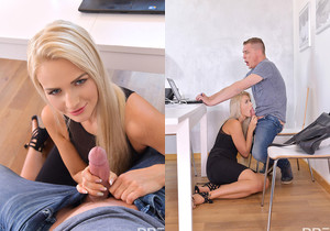 Katy Sky - Babe's First Deep Throat