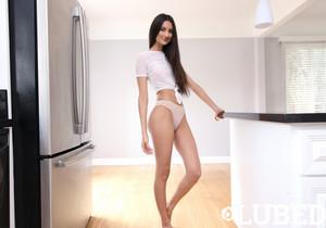 Eliza Ibarra - Drenched Panties - Lubed