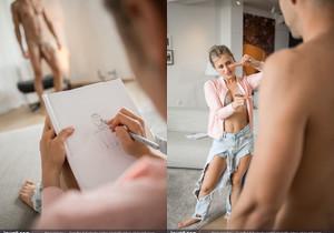 The Horny Art Student - Lindsey Cruz & Lutro - Joymii