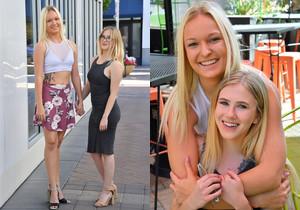 Victoria & Sasha - A Cute Couple - FTV Girls