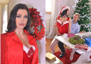 XXXmas Cramming - Pussy And Asshole Filled With Cocks