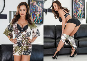 Interracial DP: Milf Lisa Ann + 2 BBCs - Evil Angel