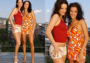 Olivia York & Estelle Toying Lesbians - Lezbo Honeys