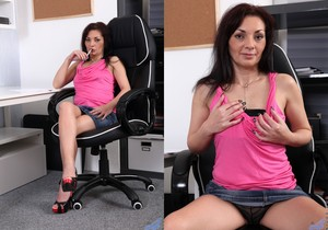 Tyna Black - The Sexy Office Lady