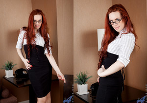 Mystique - Red Haired Mature