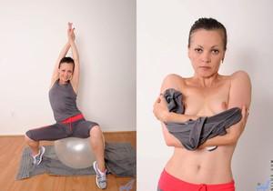 Claudia Adkins - Erotic Fitness