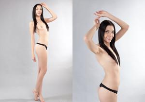 Amy Light - naked photoshoot