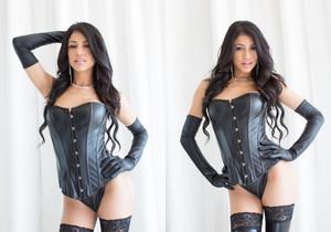 Luna Star and Veronica Rodriguez