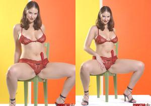 Mandy Red Panties
