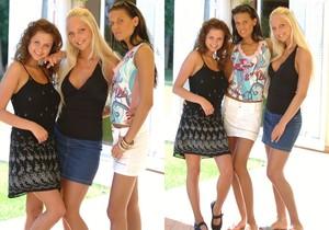 Clara, Zia & Lucie - FTV Girls