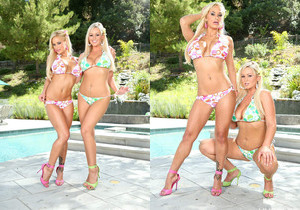 Shyla Styles & Abbey Brooks - Double Decker Sandwich 12