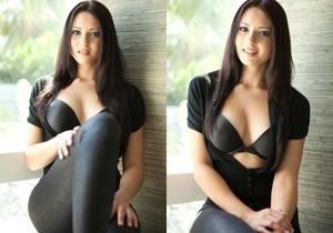 Natasha Belle - Tight Black Pants