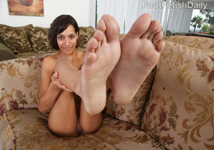 Courtney Page Oozing Footjob
