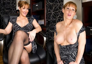 Angela - milf getting naked