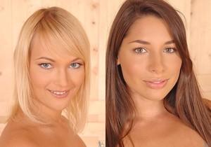Miranda & Zafira - Euro Girls on Girls