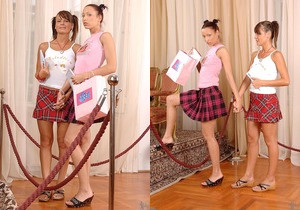 Lucy Lux & Victoria Dark - Euro Girls on Girls