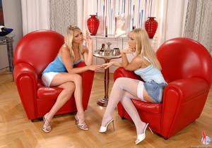 Gina & Michelle - Euro Girls on Girls