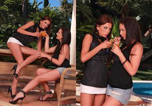 Monika & Sandra Shine - Euro Girls on Girls