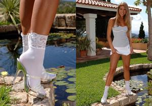 Jennifer Stone - Hot Legs and Feet