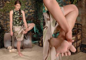 Rebecca Contreras - Hot Legs and Feet