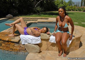 Alexis & Stacy - Breast Wishes - Big Naturals