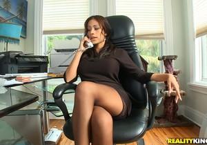 Jamie Valentine - Birthday Boss - Big Tits Boss