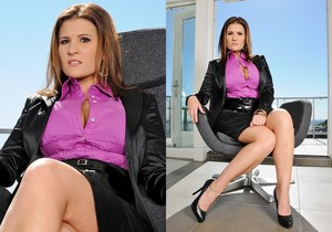 Austin Kincaid - Executive Cleavage - Big Tits Boss