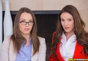 Samantha Ryan & Lily Love - Inside Exclusive - CFNM Secret