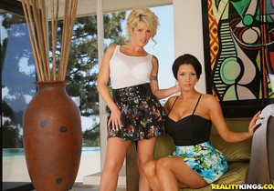 Brooke Haven & Dylan Ryder - Playful Taunt - CFNM Secret