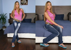 Amy - Sweet Pink Lace - Mike's Apartment