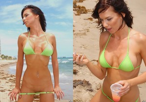 Karina O'Reilley - Beach Body - MILF Hunter