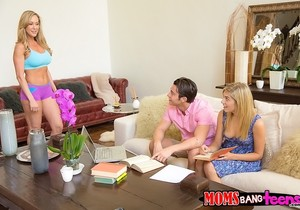 Brandi Love, Lia Lor - Soothing Sensation - Moms Bang Teens