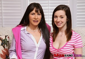 Victoria Volt And Alexandra Silk - Moms Bang Teens