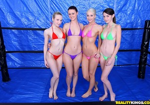 Ashley Jane, Karlie Montana, Rilee Marks, Sammie Rhodes