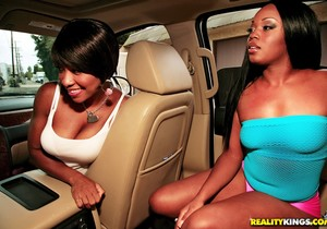 Imani Rose, Jayden Starr - Double Shot Of Ass - Round And Br