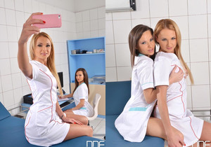Ivana Sugar & Subil Arch - Euro Girls on Girls