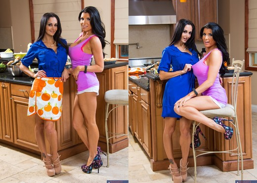 Ava Addams, Romi Rain - My Friend's Hot Mom - MILF Image Gallery