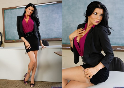 Romi Rain - My First Sex Teacher - Hardcore Sexy Photo Gallery