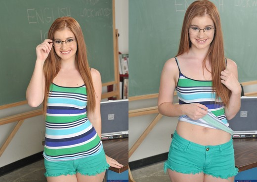 Ava Sparxxx - Naughty Bookworms - Teen Image Gallery