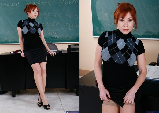 Brittany O'connell - My First Sex Teacher - MILF HD Gallery