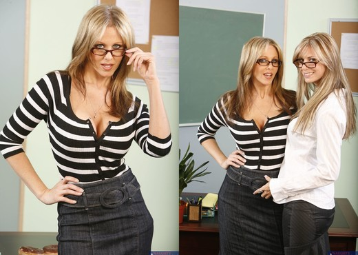 Mrs. Ann, Mrs. Banner - My First Sex Teacher - MILF Hot Gallery