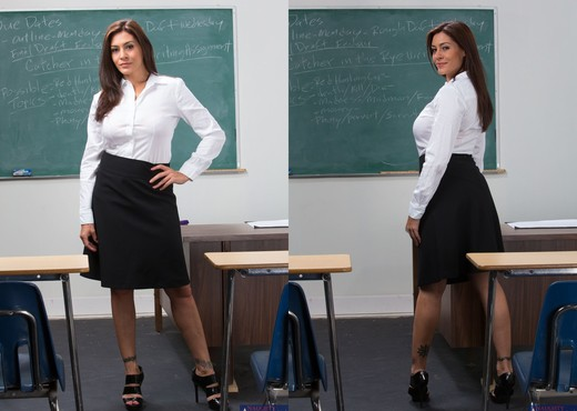 Raylene - My First Sex Teacher - MILF Sexy Photo Gallery